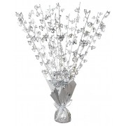 25Th Anniversary Silver Wedding Table Centrepiece