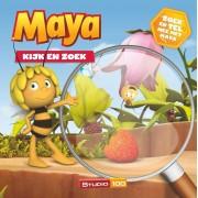 Maya de Bij Boek - Kijk en zoek