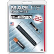 Maglite Solitaire K3A016R Incandescent Front Light(Black)