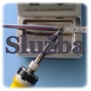 6m dvojlinka 0.5mm s pripájkovaním k LED pásiku