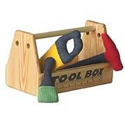 Organic Cotton Tools in Natural Wood Tool Box