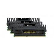 Corsair Vengeance 12GB (3x4GB) DDR3 1600Mhz Memory Kit CL9 1.5V Non-EC