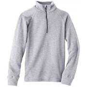 Odlo 10739 Sous vêtement manches longues Enfant Grey Melange FR : 4 ans (Taille Fabricant : 104)