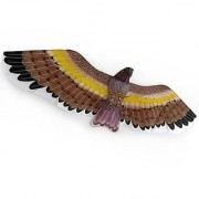 3D Brown Facon Eagle Kite Flying Toy & Hobby Outdoor Park Beach Fun Garden Farm Defense Bird Pests Scaring Traditional C