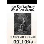 How Can We Know What God Means? by Jorge J. E. Gracia