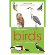 Green Guide to Birds of Britain and Europe by Jim Flegg