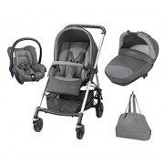 Bébé Confort 19478961 Trio Streety Next Passeggino, Concrete Grey