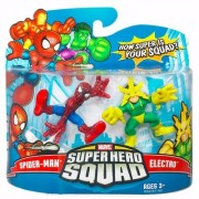 Marvel Super Hero Squad Action Figure - Spider-Man Vs Electro by Marvel