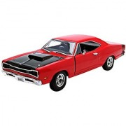 1969 Dodge Coronet Super Bee Diecast Car Model 1/24 by Motormax (Colors May Vary)