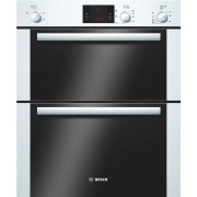 Bosch Serie 6 HBN13B221B Double Built Under Electric Oven - White