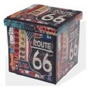 Tárolós ülőke 38 X 38 cm Route 66