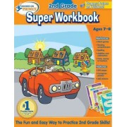 Hooked on Phonics 2nd Grade Super Workbook by Hooked on Phonics