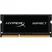 Kingston Technology HyperX Impact 4GB 1600MHz DDR3L CL9 SODIMM 1.35V Laptop Memory HX316LS9IB/4 Black