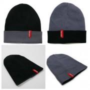 Ozoshi Wielofunkcyjna dwustronna czapka zimowa Ozoshi Sora - szara / czarna