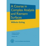 A Course in Complex Analysis and Riemann Surfaces by Wilhelm Schlag
