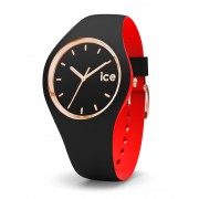 Ice-Watch Loulou IW007226 Black Rose Gold Small horloge