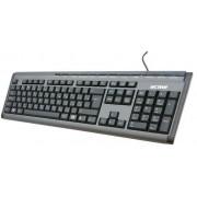 Tastatură ACME KM-03 multimedia slim, argintiu