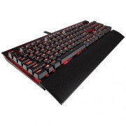 KBD, Corsair K70 LUX, Gaming, Red LED, Cherry MX Red, USB (CH-9101020-NA)