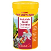 Hrana pesti, carasi, granule, Sera Goldy Color Spirulina 250ml, 120gr