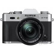 Kit aparat foto Fujifilm FinePix X-T10 (cu obiectiv de 16-50mm), argintiu