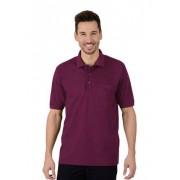 Trigema Herren Polo-Shirt mit Brusttasche Größe: M Material: 100 % Baumwolle, Ringgarn supergekämmt Farbe: sangria