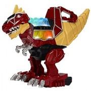Bandai JUL158630 Power Rangers Dino Super Charge - Rumble & Roar T-Rex Zord Action Figure
