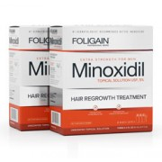 FOLIGAIN MINOXIDIL 5% HAIR REGROWTH TREATMENT For Men 6 Month Supply