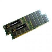 "Hypertec HYUK1276482GB - Kit memoria DIMM ""Hyperam"", 2 GB (2 moduli da 1028 MB), 333MHz, PC-2700, CL2.5, DDR1, Non-ECC, 184 Pin"