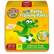 Earths Best Earth`s Best Organic Potty Training Pants Size 2T-3T 29 Count (Pack Of 4)
