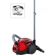 Ефективност на почистване сравнима с 2200 ватова прахосмукачка Клас на енергийна ефективност: A Средна годишна консумация на енергия: 28 kwh Клас на емисии на прах: B Клас за почистване на килими: E Клас за почистване на твърди подови настилки: D Ниво на