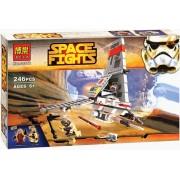 Star Wars-Space Fights Rebels 246pcs. Bouw je eigen ruimteschepen met deze bouwstenen, gelijkaardig aan Lego.