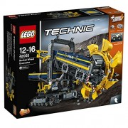 Lego - 42055 - Technic - Jeu de Construction - La Pelleteuse à Godets
