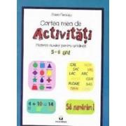 Cartea mea de activitati 5-6 ani - Mara Neacsu