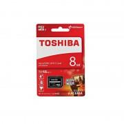 Card Toshiba microSDHC 8GB Clasa 10 cu adaptor SD