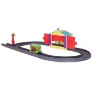 Tomy LC54215 Chuggington DieCast Sophie - Vías para tren con escenario mágico