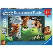The Good Dinosaur Puzzel (2x12 stukjes)