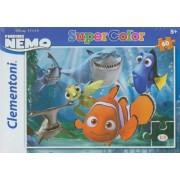 Clementoni 26885 - Puzzle Nemo Never Trust A Smiling Shark, 60 pezzi