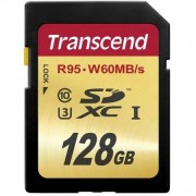 Transcend 128GB Class 10 (95MB/s) SDXC-kort