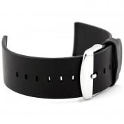 Bracelete de Pele para Relógio Apple - 42 mm - Preto