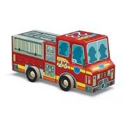 Crocodile Creek Fire Engine Jigsaw Puzzle in Vehicle Shaped Box (48 Piece), 8 by Crocodile Creek