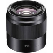 Obiectiv Foto Sony E 50mm f1.8 OSS Negru