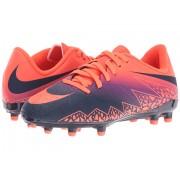 Nike Jr Hypervenom Phelon II FG Soccer (ToddlerLittle KidBig Kid) Total CrimsonVivid PurpleObsidian