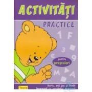 Activitati practice pentru prescolari - Ursuletul Martinel