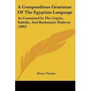 A Compendious Grammar of the Egyptian Language by Henry Tattam