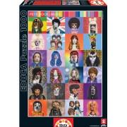 Educa Puzzle Pets Rock Music 1000 de piese 15554