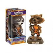 Limited Edition Guardians Of The Galaxy Flocked Rocket Raccoon Wacky Wobbler Hmv Exclusive