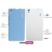 For Lenovo K3 Note[COMBO OFFER]: Unistuff™ Matte Finish Hard Case Back Cover for Lenovo K3 Note [SLIM FIT][FREE SHIPPING] (Sky Blue, White)
