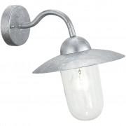 EGLO Lampada da Parete Esterna Milton 60 W Argento 88489
