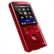 Walkman Mp4 Sony NWZE384R.CEW Rojo
