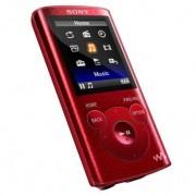Walkman Mp4 Sony NWZE384R.CEW Rojo